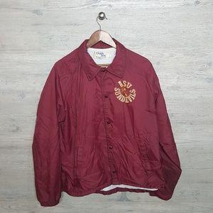 Vintage ASU Sun Devils Coaches Jacket. AMAZING!